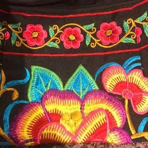 Handbags - 🏝🏖Boho Handmade Embroidered Clutch/Crossbody